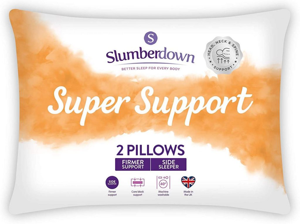 The best neck support pillow in UK 2021