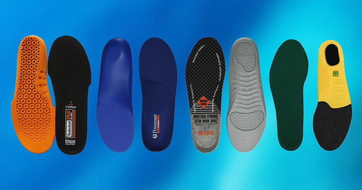Top 10 Best Work Boot Insoles in the UK for 2021
